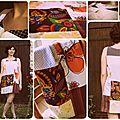 Robe en patchwork pour Anne