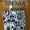 Diy - l'indispensable tote bag / sac fourre-tout