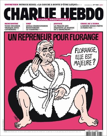 DSK, Florange, Les Unes de Charlie Hebdo une 1068