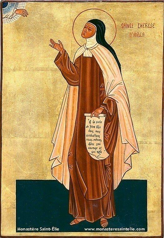 Ste Teresa d'Avila