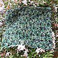 Tuto tour de cou au crochet de laine merino / tutorial cuello de ganchillo de lana merino