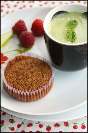 soupe melon, financiers4