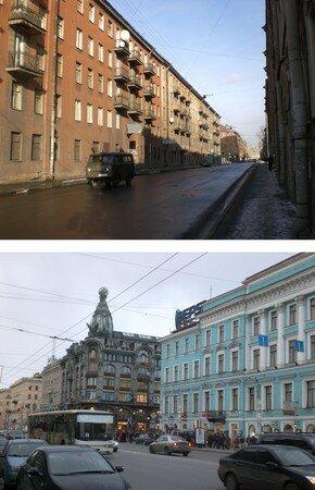 contraste_centre_ville_et_petites_rues