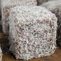 L'australie.... the gâteau lamington