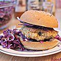 Burger veggie ! {recette} + présentation des assaisonnettes quintesens bio