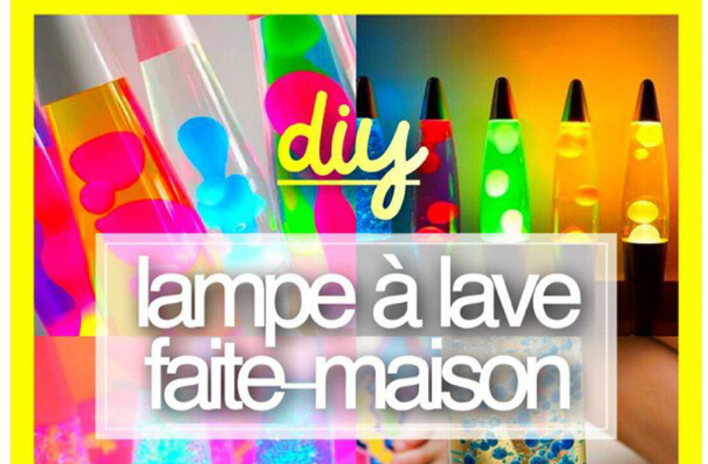 diy lampe lave faite maison astuce pour la vie. Black Bedroom Furniture Sets. Home Design Ideas