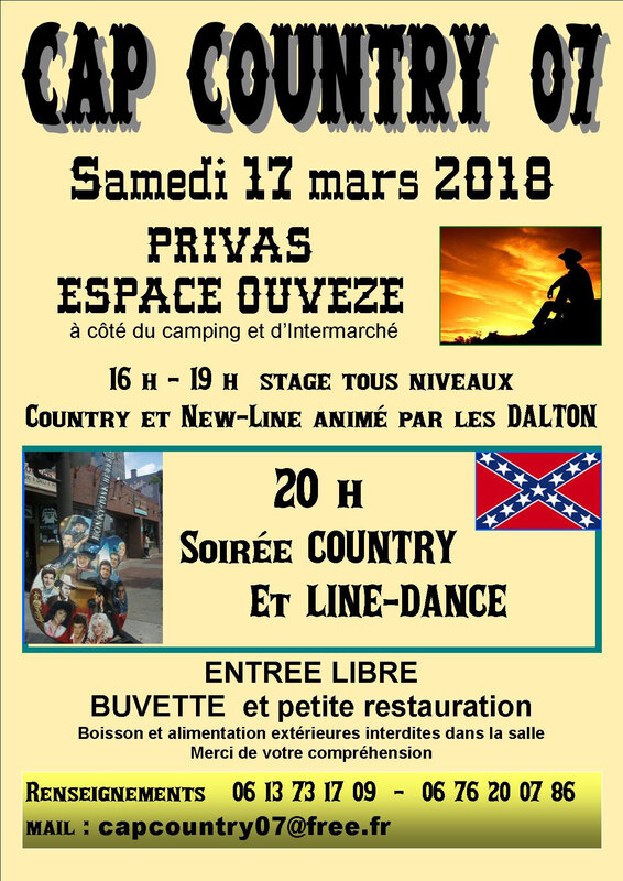 Affiche Country 2018 A4 2