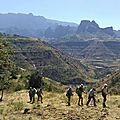 Trekking with abyss land ethiopie safe the only