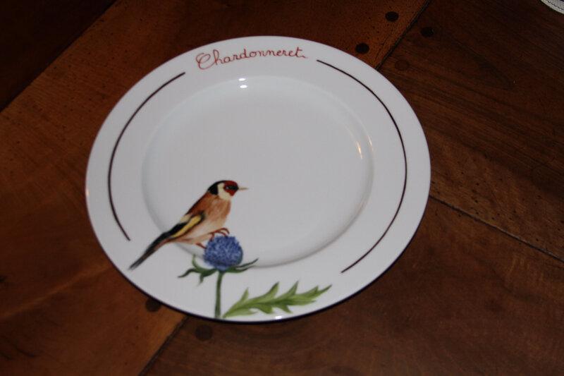 Assiette chardonneret (1)