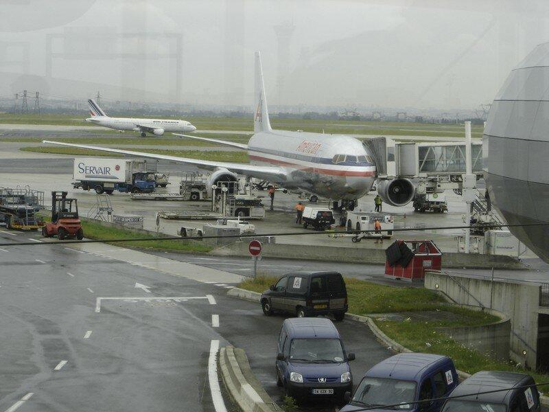A005 CDG: notre avion!