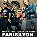 New found glory de retour en france.