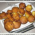 Muffins gramberry et pistaches