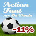 Action foot sur dawanda - promotion -11%