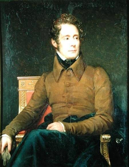 Lamartine portrait