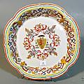 Chine de commande pour le portugal, drageoir, xviiie siècle, époque qianlong