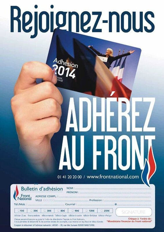 Adhésion FN 2014