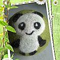 Grosse balle panda