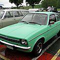 Opel kadett c 1200 s coupe 1973-1977