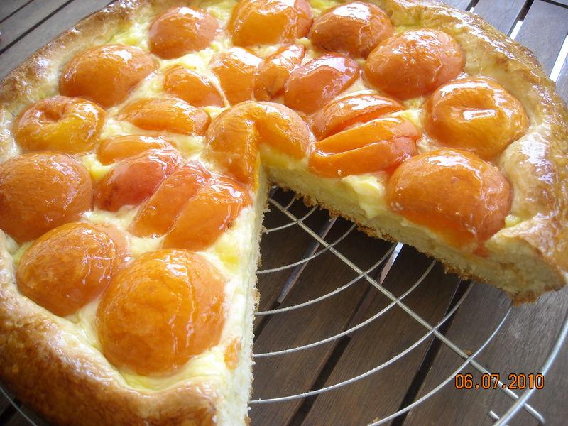 Tarte briochee aux abricots les recettes de dani - Recette de tarte aux abricots ...