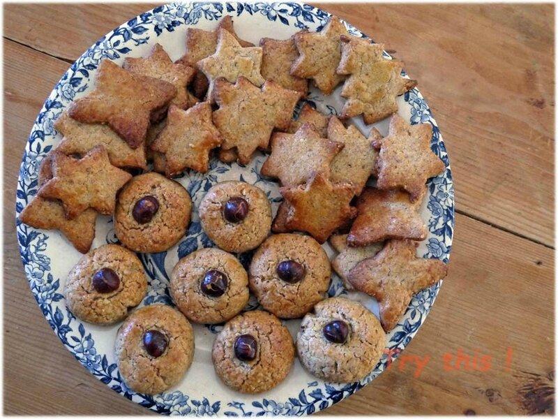 petits gâteaux amandes noisettes 1