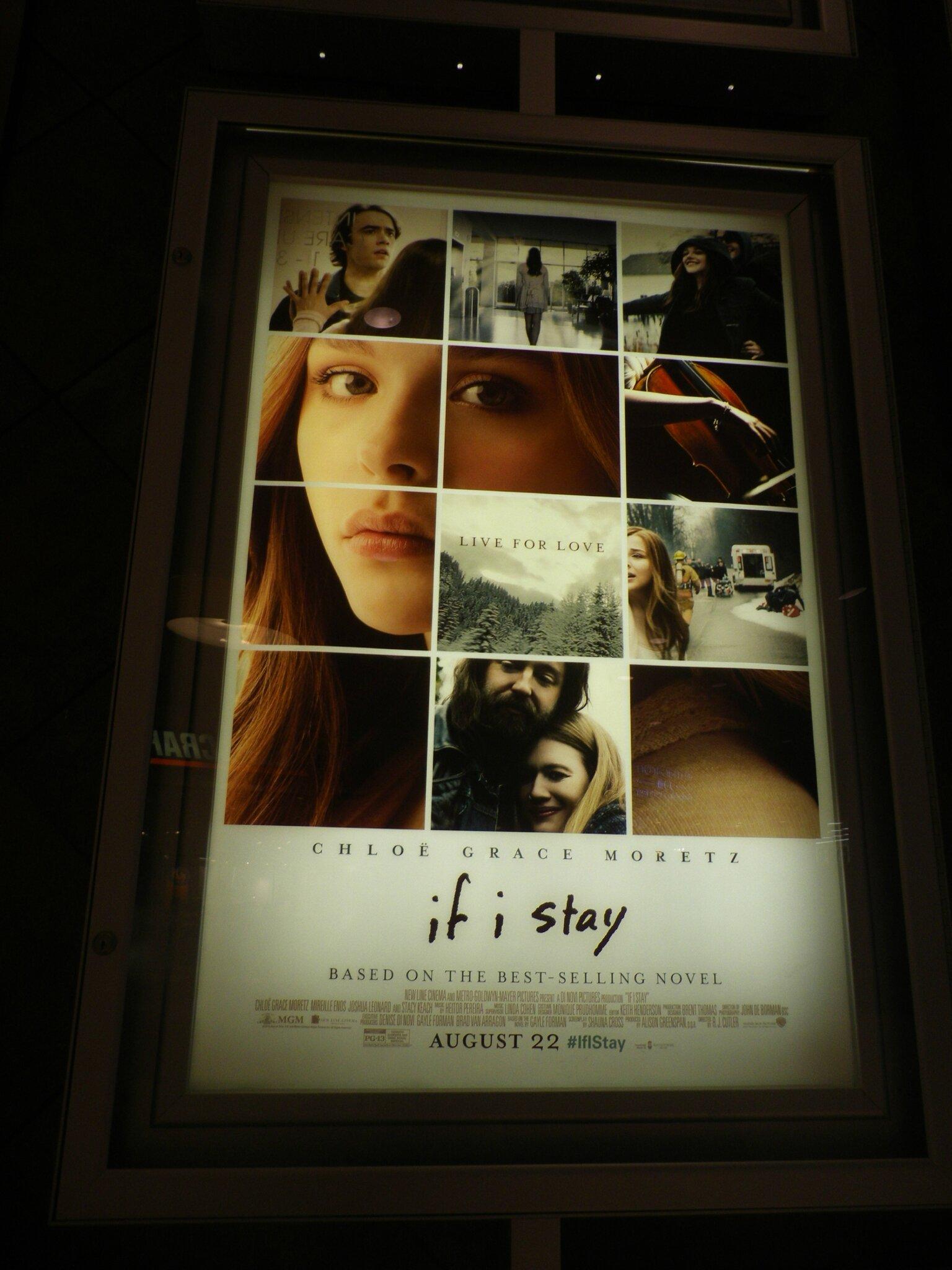 Si je reste [le film] de R.J. Cutler (If I Stay)