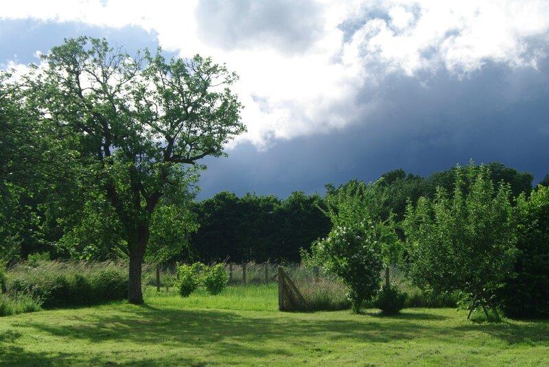 entendre venir l'orage