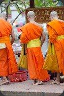 Laos Luang Prabang moines monk