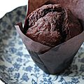 Les muffins chocolat banane de nigella