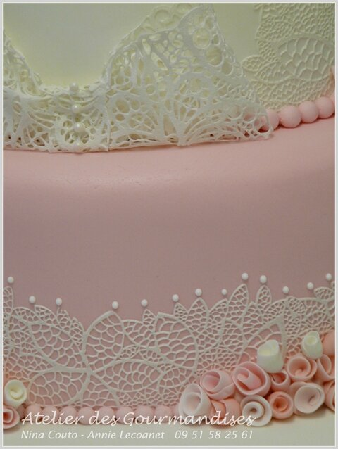 Wedding cake rose Nina Couto3