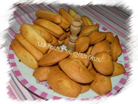 Madeleines longues 6