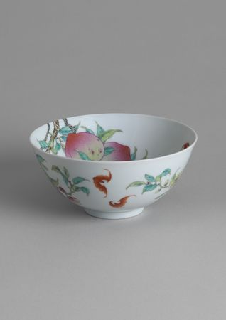 11_Famille_Rose_Porcelain__Peach__Bowl
