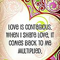 Love is contagious