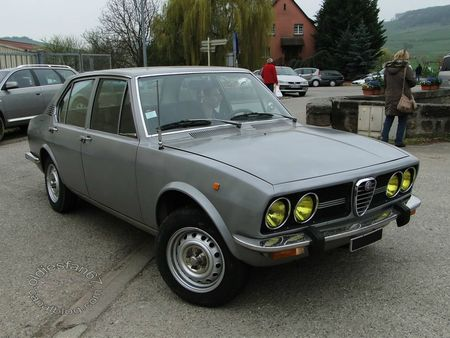 alfa romeo alfetta, 1972 1975, bourse de soultzmatt 2013 3