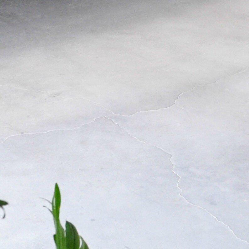 sol béton clair patiné