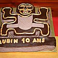 Gâteau koh lanta pour les 10 ans de mon grand!
