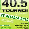 Un super tournoi à villebon-sur-yvette !