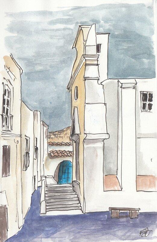 Forio-Place de l'Eglise