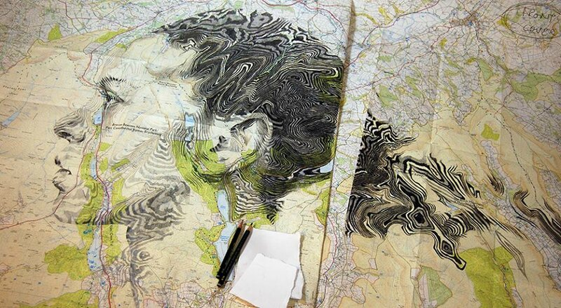 Ed Fairburn _ map portraits _ artodyssey (1)