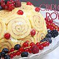 La charlotte royale du meilleur pâtissier