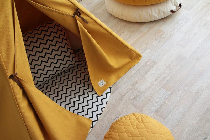 teepee-nevada-farniente-yellow-detail-nobodinoz