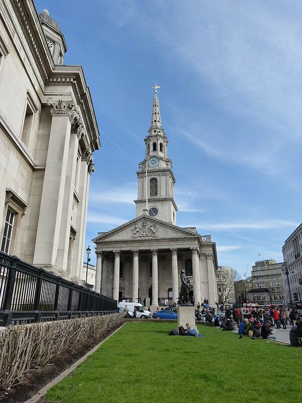vu sur st martin in the fields
