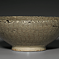 A henan marbled 'feather' bowl, northern song dynasty, 12th century
