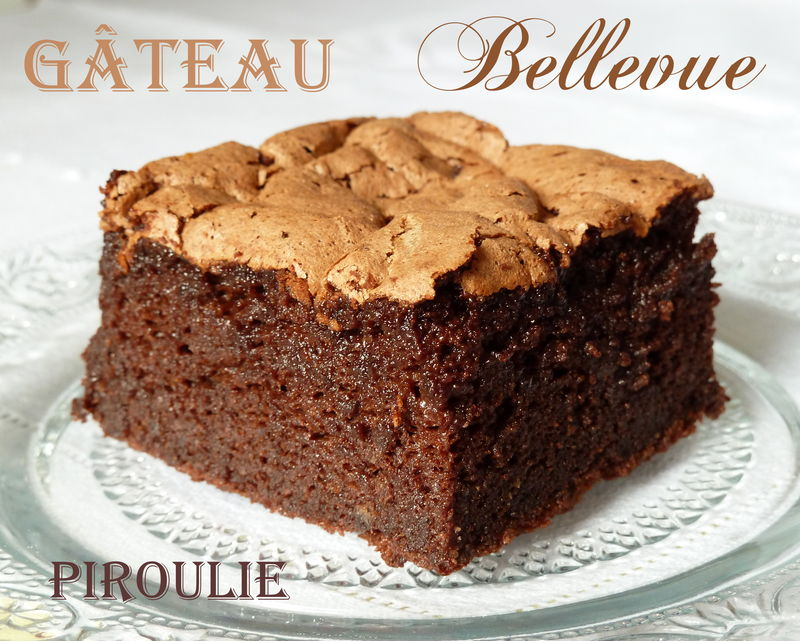 Gateau chocolat orange sans beurre