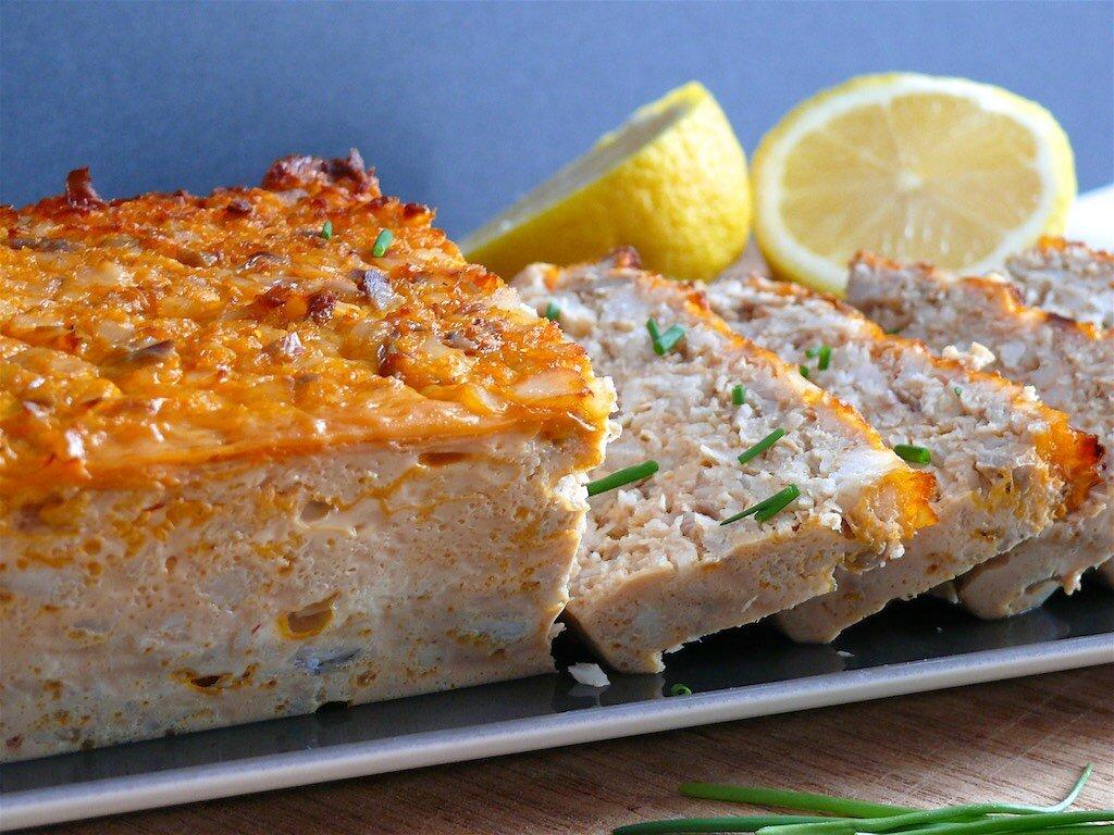 Cake Au Poisson Et Tomates