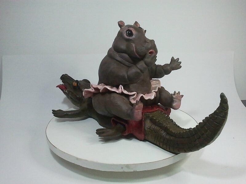 Miss Hippo et Mr Croco