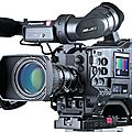 Camcorder panasonic ag-hpx372 dvc pro hd