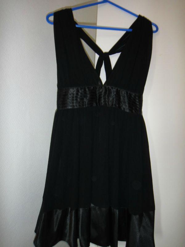 robe noir nafnaf taille 38 je vide mon dressing et vous. Black Bedroom Furniture Sets. Home Design Ideas