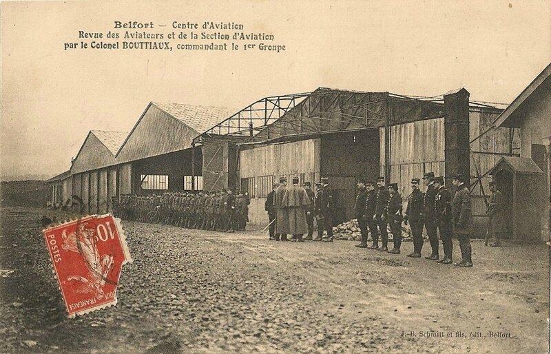 19XX Belfort CPA Revue aviateurs par Col Boutiaux