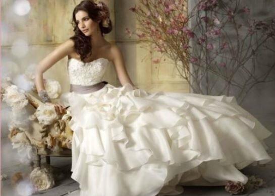 """Robe de mariée """"Séréna"""" T 40/42 ivoire"""