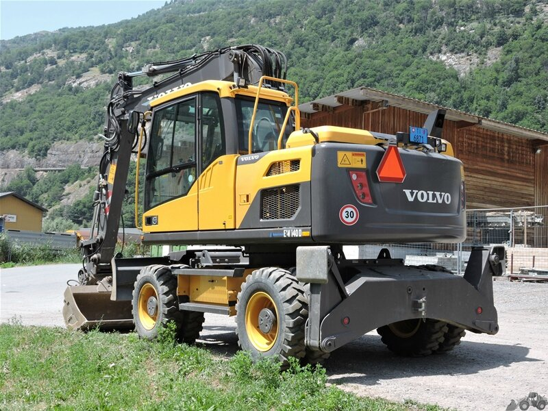 volvo ew 140 d. - charly's engins